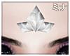 M| Tri White Crystal