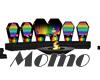 Rainbow Coffin Thrones