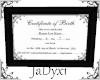 Raine Birth Certificate