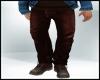 Fall Fashion Brown Jeans