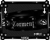 *Torment Collar // Black