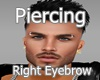 EyePiercingSilverRight