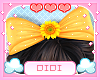 !D! Kids Sunflower Bow