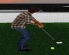funny animated golf tee