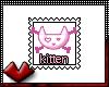 (V) Kitten Stamp