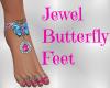 Jewel Butterfly Feet