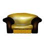 Yellow Scruffy Armchair