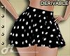 Dotted Black Skirt
