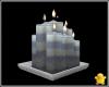 C2u Blue Cream Candles 3