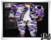 P5* Purple Army Outfit