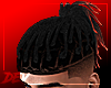 !D Tied Locs Red