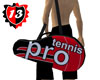 #13 Tennis Bag - RED
