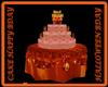 CAKE HAPPY BDAY HALLOW