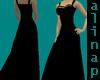 *A* Black Long Dress