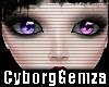 2Tone Eyes Pink&Lilac