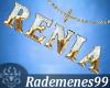 Gold necklace Renia