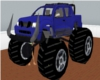 animated monster truck