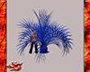 Neon Blue Wolf Palm