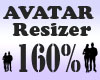 G`Avatar Resizer 160%
