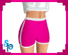 [S] Sport Shorts Pink