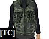 Combat Vest Woodland 1