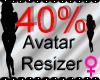 *M* Avatar Scaler 40%