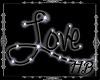 LOVE in black
