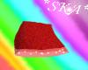 *SKA* Red Kawaii Skirt