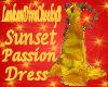 SUNSET PASSION DRESS