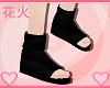  HK  Black Ninja Sandals