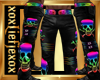 [L] Skull Pride Pants M