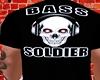 Bass soldier tee