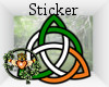 Celtic Knot Sticker