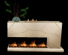 Modern Mantle Fireplace