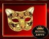 Gold Neko Mask