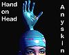 hand on head Anyskin - F