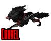 Black mystic wolf
