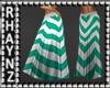 Long Summer Skirt *Teal