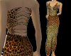 SN Leopard Grace Gown