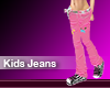 (M) Kids Jeans Pink