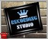 BN Recording Studio Sign