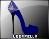 UF *Elegance* Shoe Blue