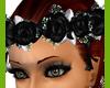 !S Black & White Rose