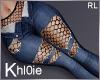 K Net ripped blue dark