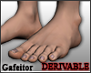 Realistic feet