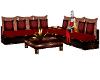 sofas room retro