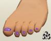 Bre FT Gliter Prpl Nails