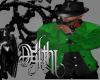 panos jacket green/black