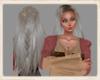 Norse ash blonde plait