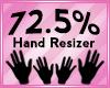 Hand Scaler 72.5%